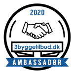 AlgeNord ApS er ambassadør på 3byggetilbud.dk