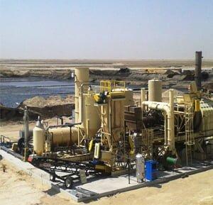 Petroleum Waste Treatment
