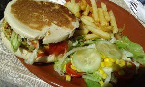 Vegan Mafalda Burger