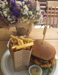 Vegan Burger bei Ohana