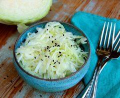 salade de chou chinois-alimentation intégrative