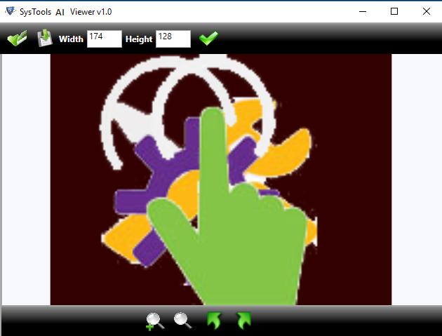 Trin 4: Adobe Illustrator Viewer Generer forhåndsvisning af AI-filer