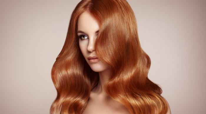 Auburn Hair and Light Skin