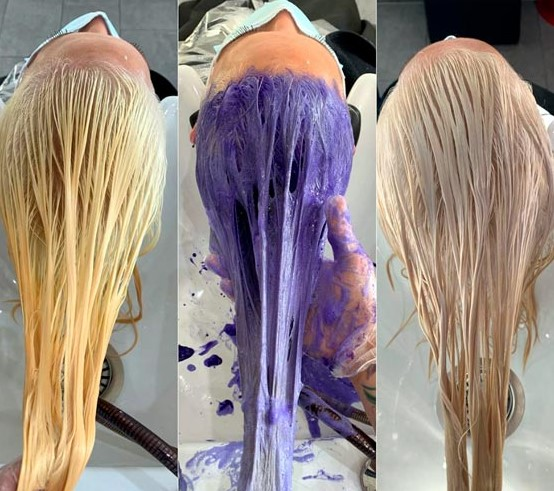 How to Use Purple Shampoo