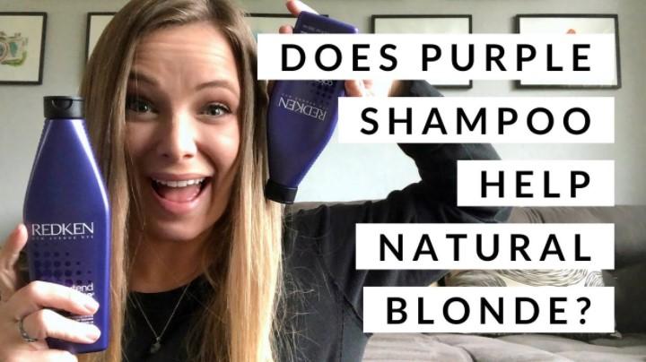 Purple Shampoo Work on Natural Blonde Hair