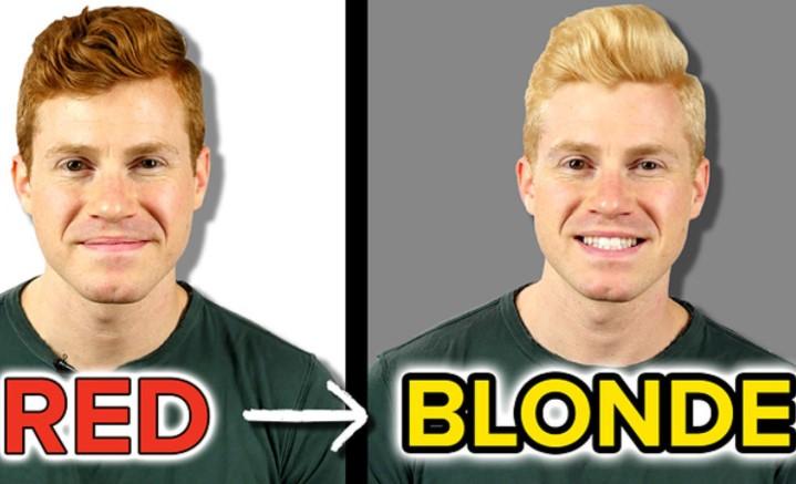Red Hair To Blonde Hair
