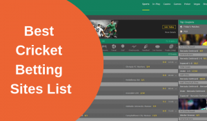 Cricket Betting Tips and Tricks - How to Find the Best Cricket Betting Sites Odds