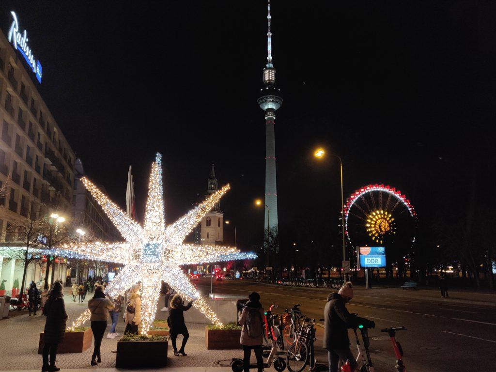Fernsehturm, 1. januar 2020, Berlin