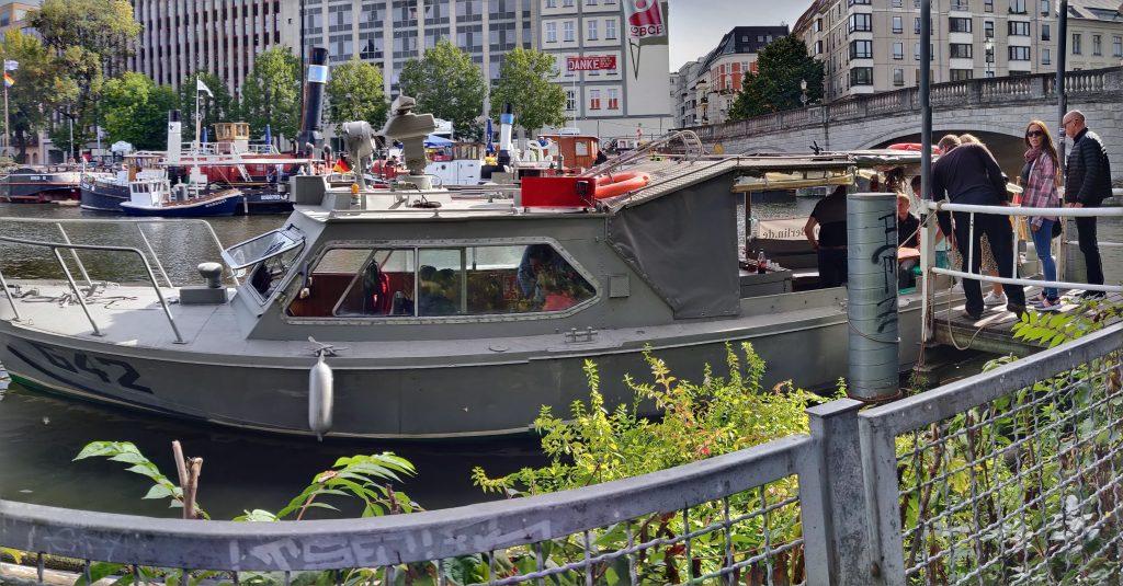 DDR Grenzboot G42 Berlin (C) allesgut.berlin