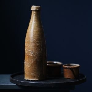 Antique ceramic bottles
