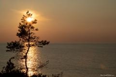 Solnedgång Södra Hällarna
