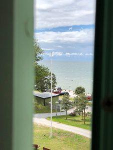 Utsikt från Visby lasarett