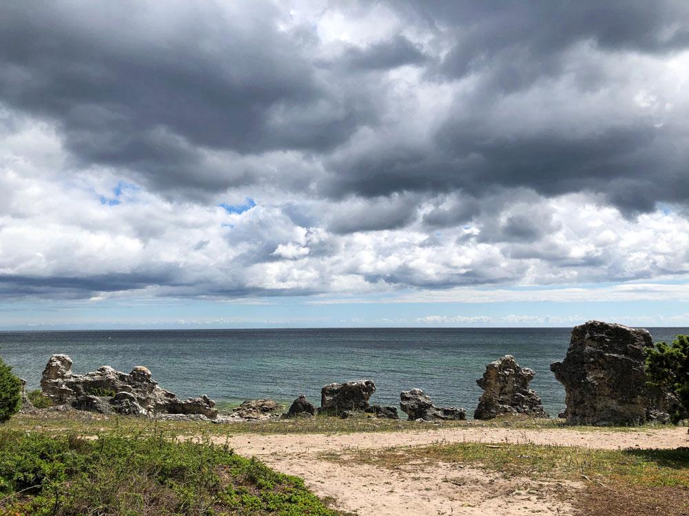 Gotland. Folhammar.
