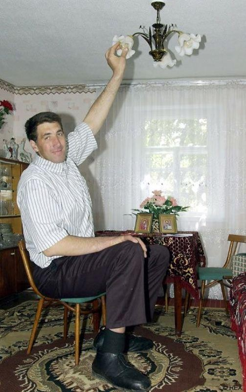 leonid stadnyk - fourth tallest person in the world