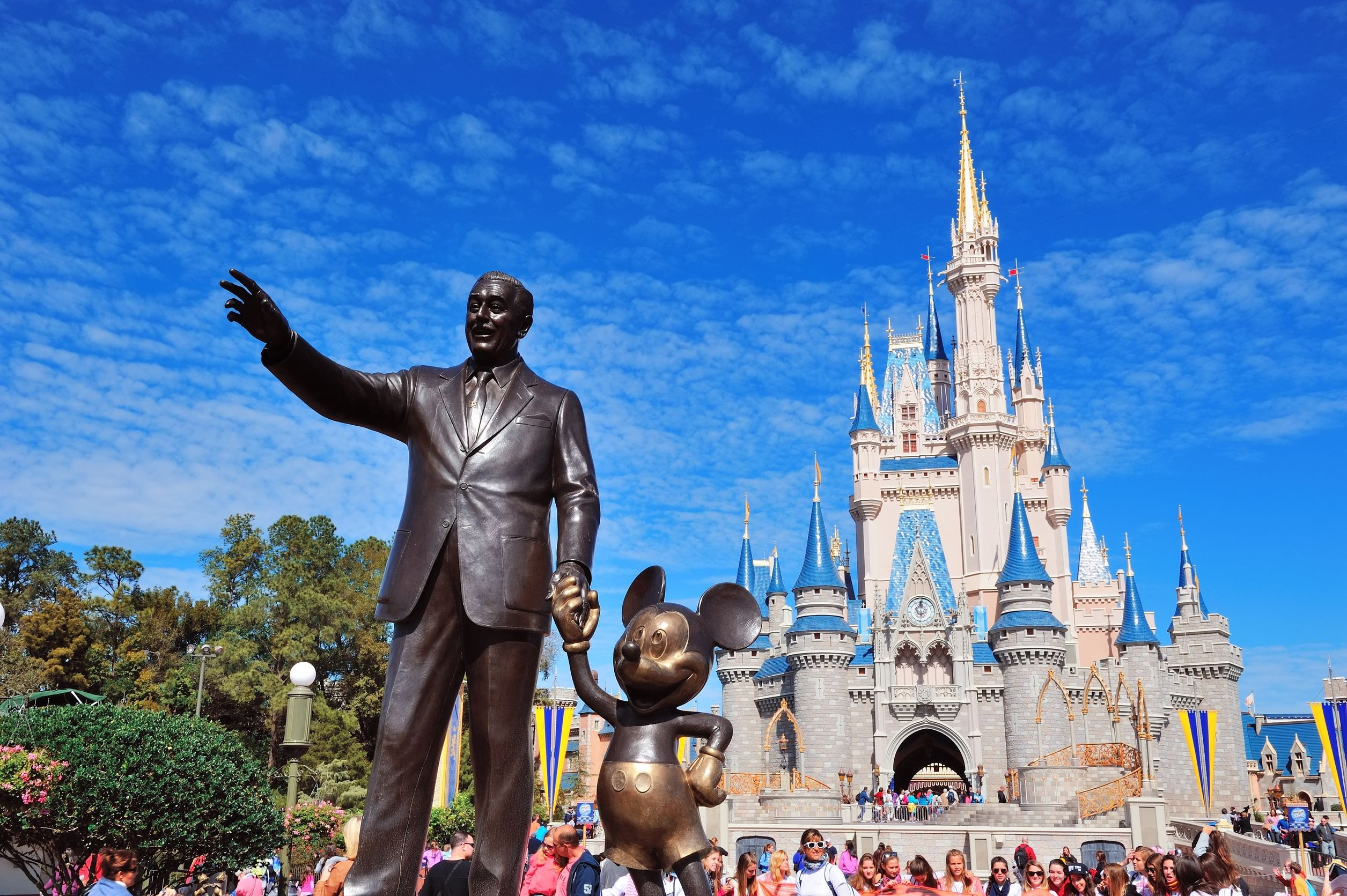 walt disney world - most popular amusement park in the world