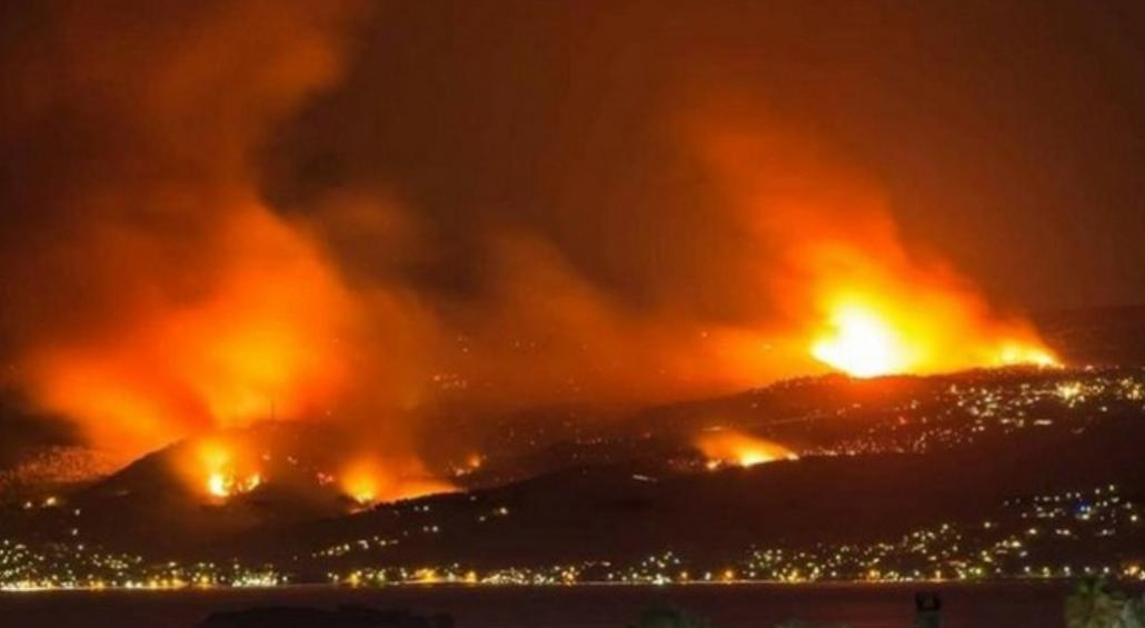 attica wildfires