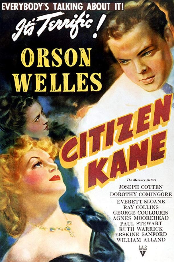 citizen kane - fourth top movie