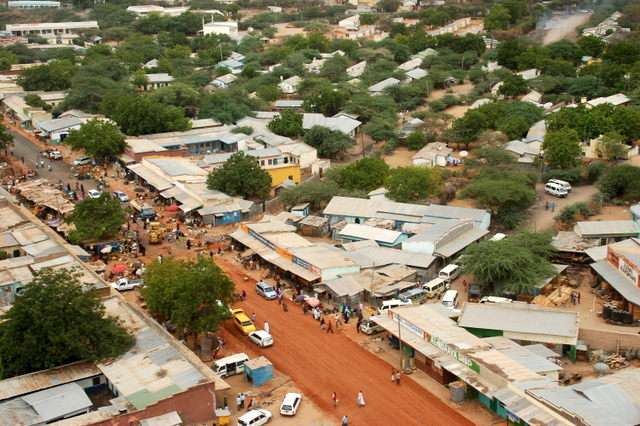 garissa kenya - fourth warmest city in the world