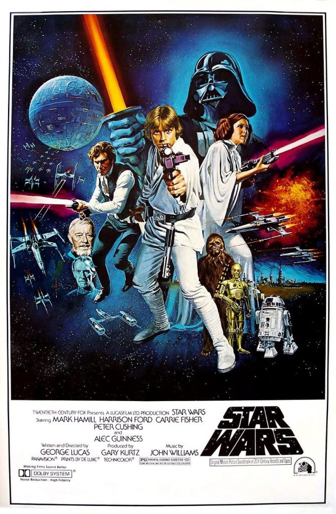 star wars original highest grossing films