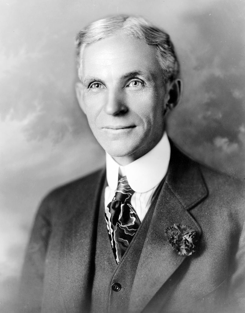 henry ford - richest people in history top 5