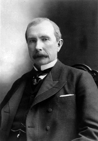 john rockefeller - second of the richest people in history