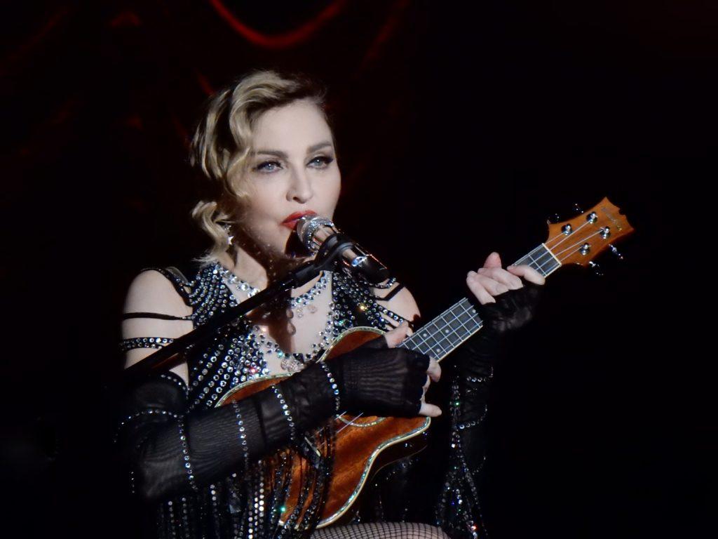 madonna - fourth richest singer in the world