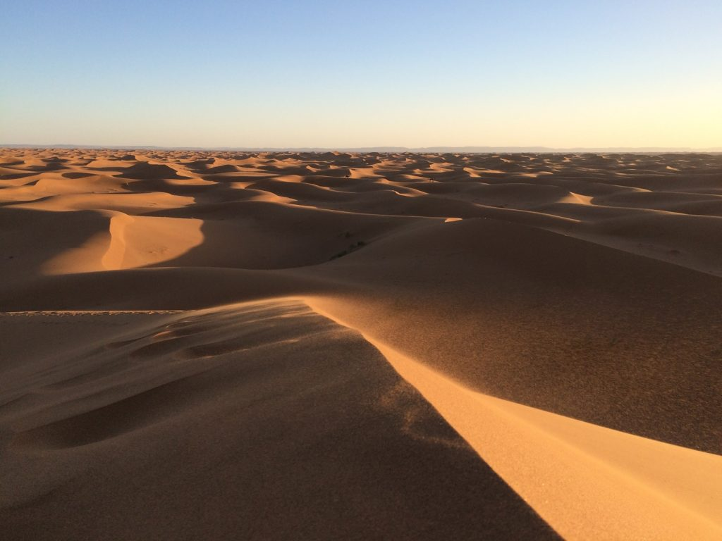 arabian desert - deserts in the world