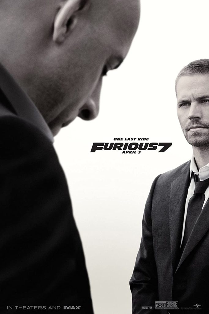 furious 7 - highest grossing movies of all time
