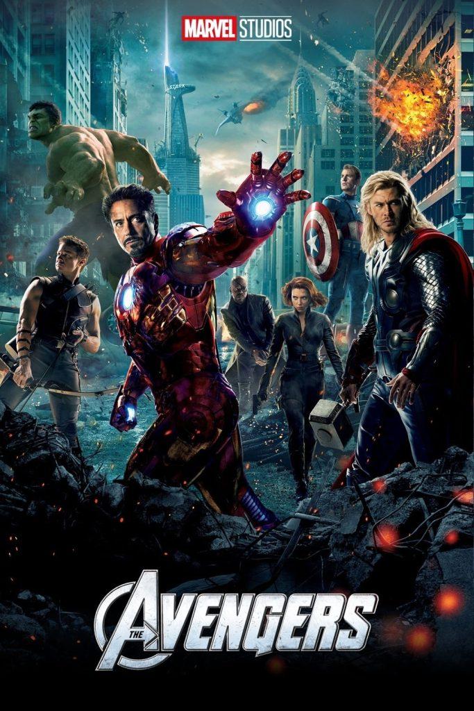 avengers - highest grossing films ranking