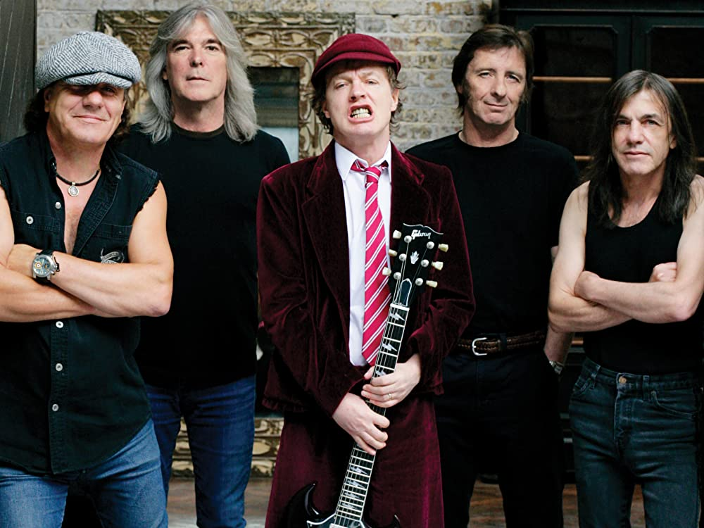 acdc - sixth best selling band in history
