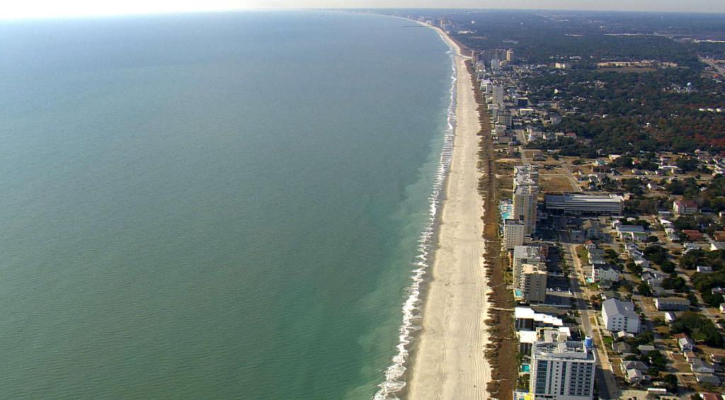 grand strand - longest beach on the eastcoast