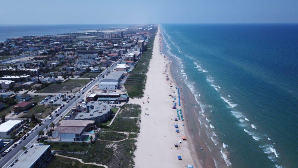 padre island beach - longest beach in america
