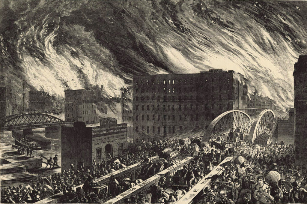 great chicago fire - worst wildfires in history