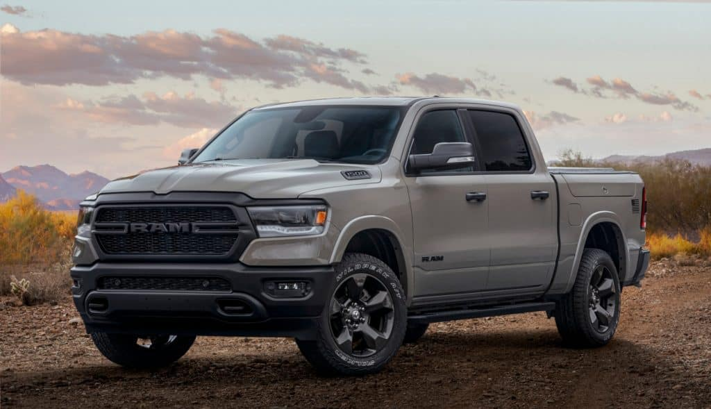 ram pickup second of the most popular cars in the USA