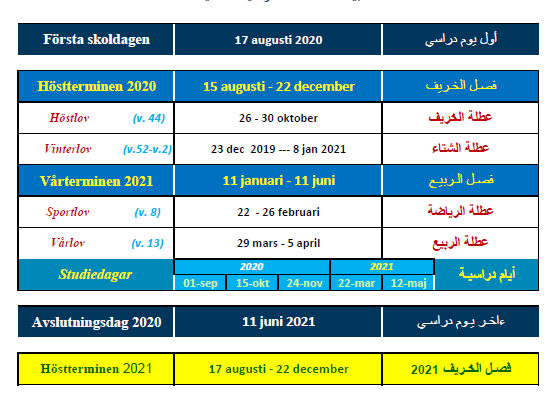 Läsårsdata 2020-2021