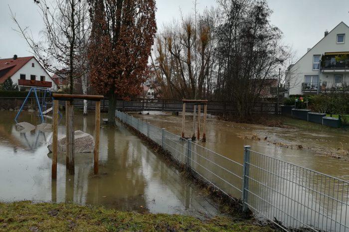 """Beitrag aus der NN/NZ vom 6./7. Februar zum Thema """"Überschwemmungsgebiet"""""""
