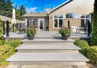 Plancher, terrasse en aluminium