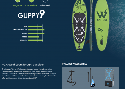 Stand up paddle GUPP 9