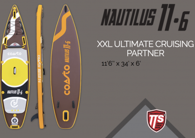 Stand up paddle NAUTILUS 11.6
