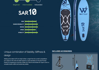 STAND UP PADDLE SAR 10