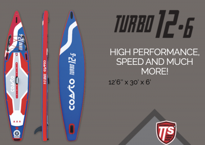 Stand up paddle TURBO 12.6