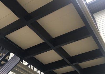 Alu Floors Scandinavia, Plancher Fermé pour terrasse suspendu