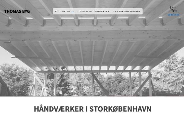 carpenter website design