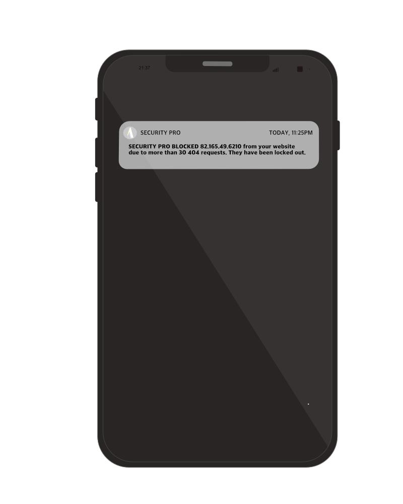 phone security alert TAC