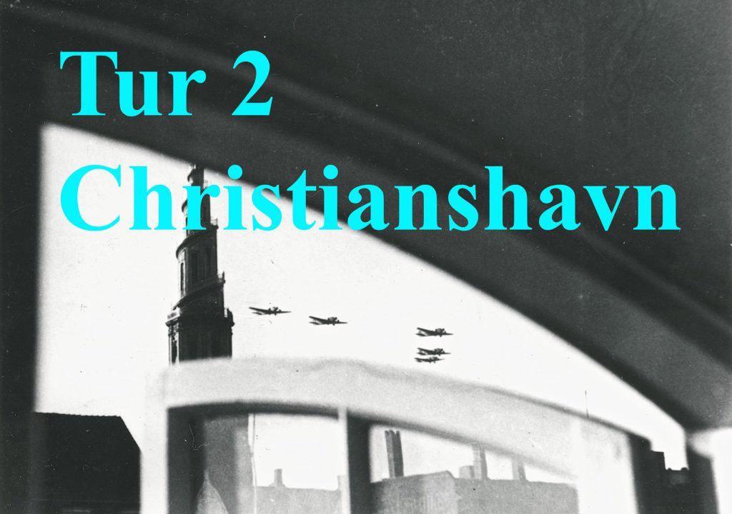 Foto af fly over Vor Frelser Kirke - skal linke til tur 2 Christianshavn