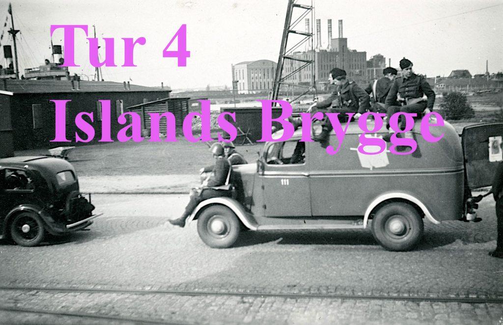 Foto af modstandsfolg på Islands Brygge der leder til tur nr. 4