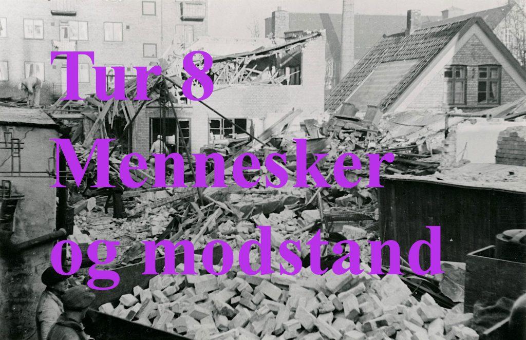 Foto af fabrik i Holmbladsgade saboteret - fører til tur 8