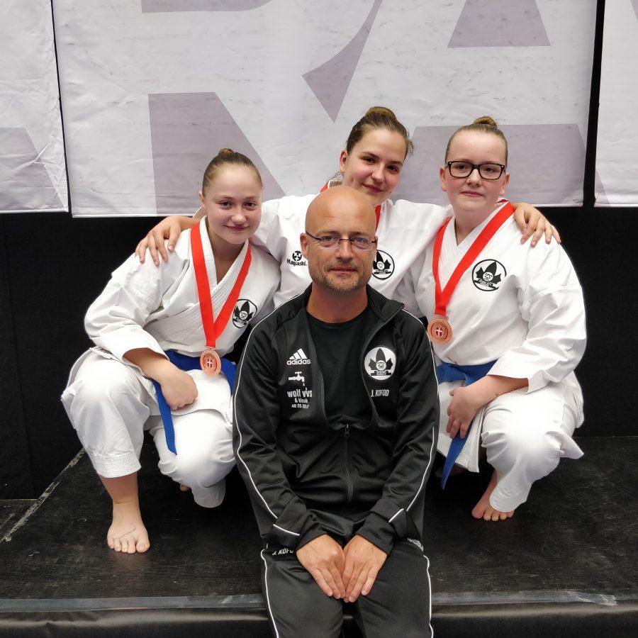 Catharina, Nadja, Salka og Jesper