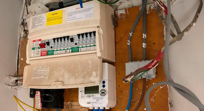 udskiftning af el-tavle hos vores Elektriker Amager