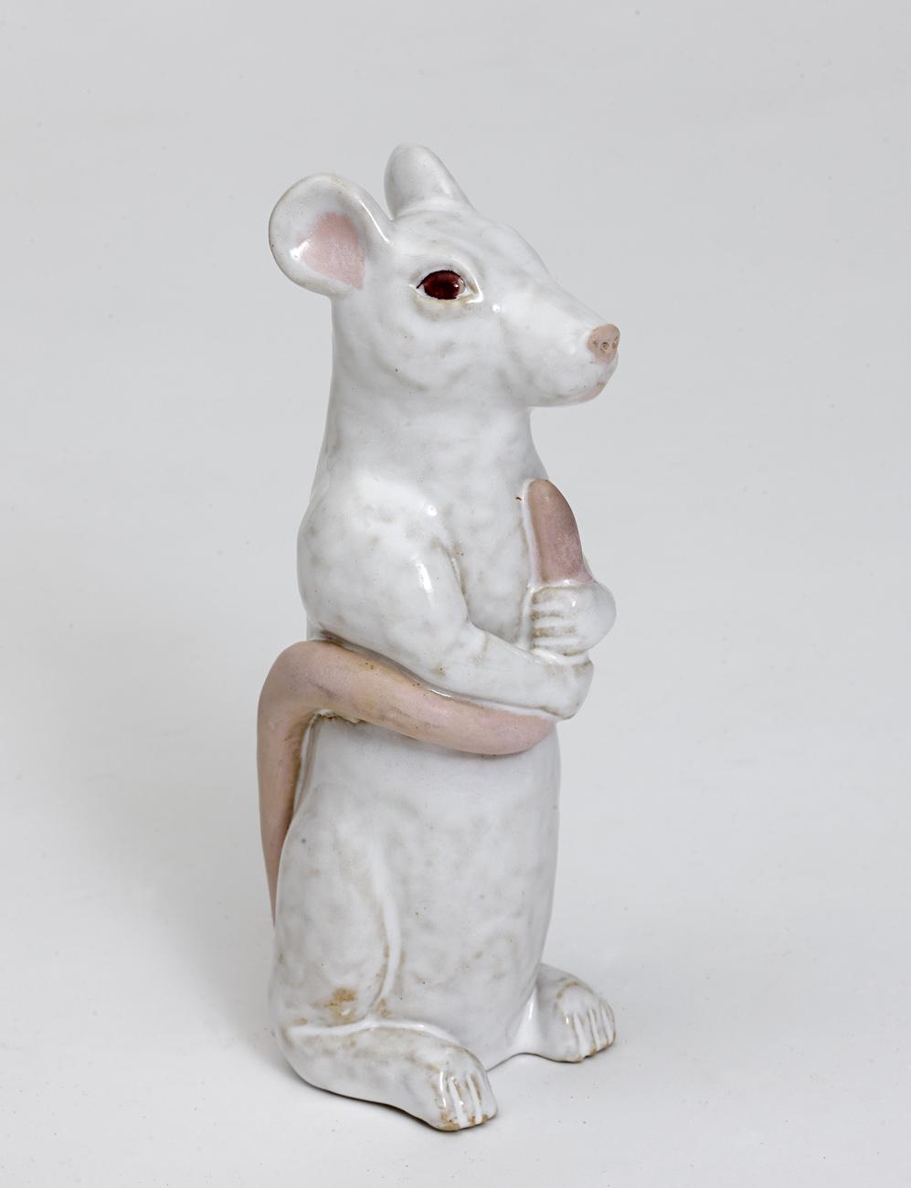 Ratta med svans_glaserad